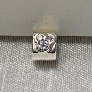 Mickey Mouse Bracelet Charm (fits Pandora)